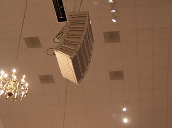 Audio Lighting Installation