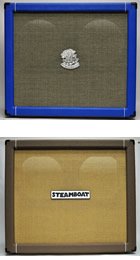 Steamboat Guitar and Bass Cabinets